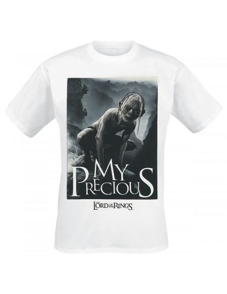 Le Seigneur Des Anneaux Gollum - My Precious T-shirt blanc