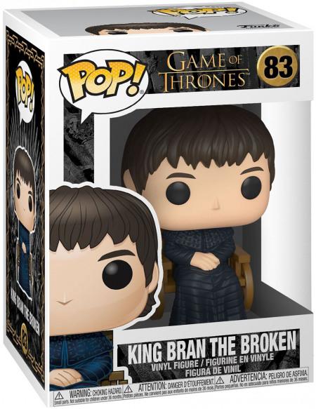 Figurine Funko Pop TV Game of Thrones King Bran the Broken