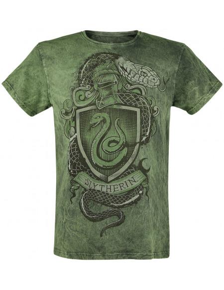 Harry Potter Serpendard - Serpent T-shirt vert