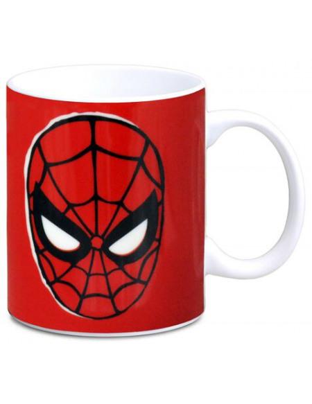 Spider-Man Masque Mug rouge/noir/blanc