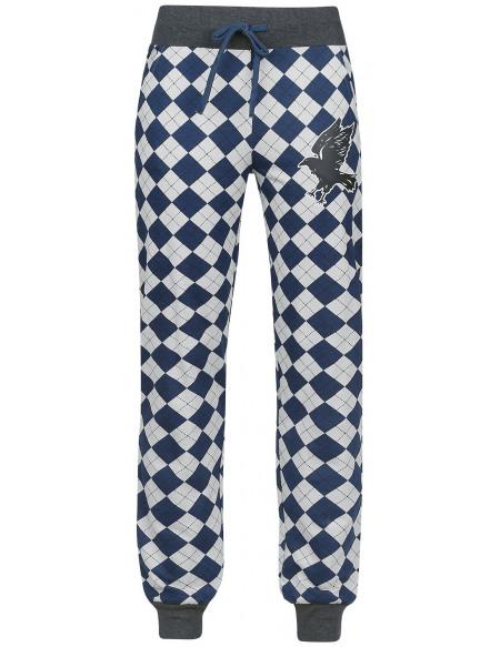 Harry Potter Serdaigle Bas de pyjama gris/bleu
