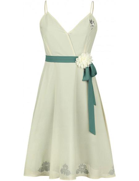 La Princesse et la Grenouille Tiana - Prom Robe vert clair