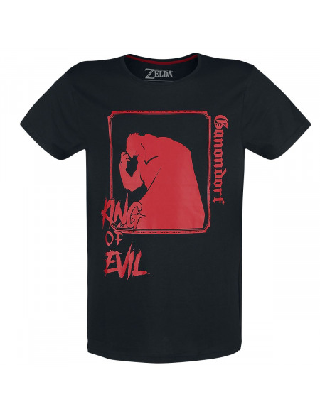 The Legend Of Zelda Ganondorf T-shirt noir/rouge