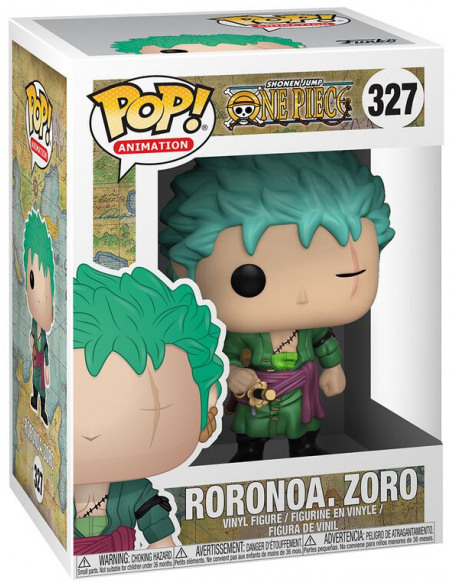 One Piece Figurine En Vinyle Roronoa Zoro 327 Figurine de collection Standard