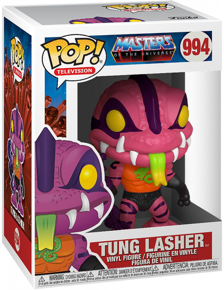 Masters Of The Universe Tung Lasher - Funko Pop! n°994 Figurine de collection Standard