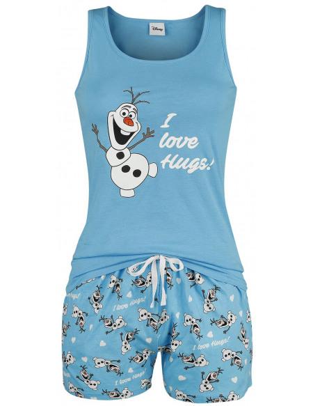 La Reine Des Neiges Olaf - I Love Hugs Pyjama multicolore