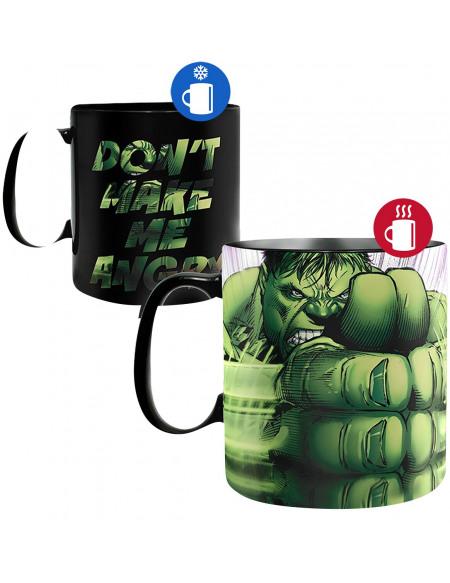 Hulk Hulk Smash - Heat-Change Mug multicolore