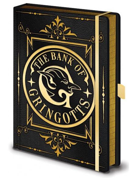 Harry Potter Gringotts - Cahier Premium Cahier Standard