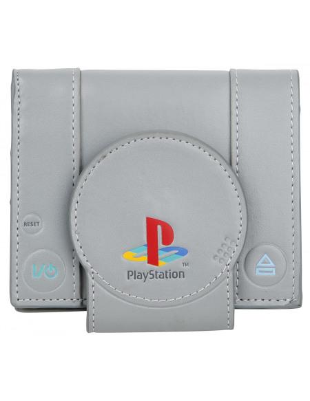 Playstation Portefeuille gris