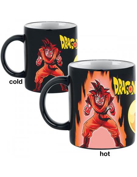 Dragon Ball Z - Super Saiyan - Mug Thermoréactif Mug multicolore