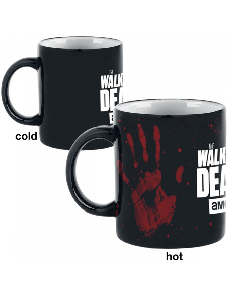 The Walking Dead Mug Thermoréactif - Main Mug multicolore