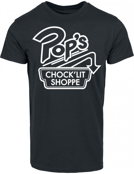 Riverdale Pop's Chock'lit Shoppe T-shirt noir