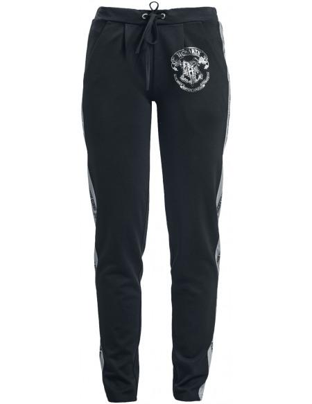 Harry Potter Poudlard Pantalon de Survêtement Femme noir