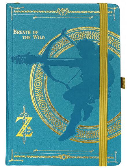 The Legend Of Zelda Breath Of The Wild Cahier multicolore