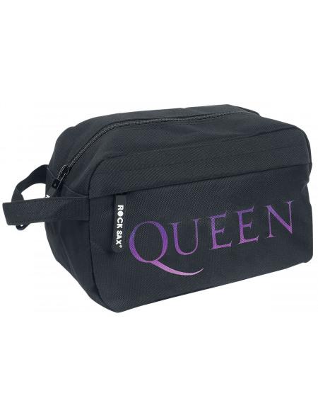 Queen Bohemian Crest Trousse de Toilette noir