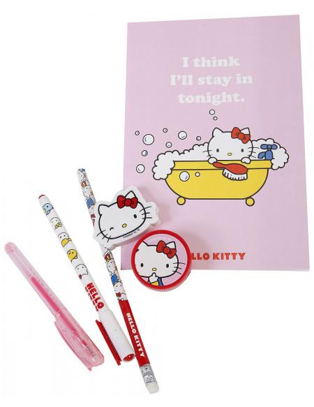 Hello Kitty Kit De Papeterie Set Écriture multicolore