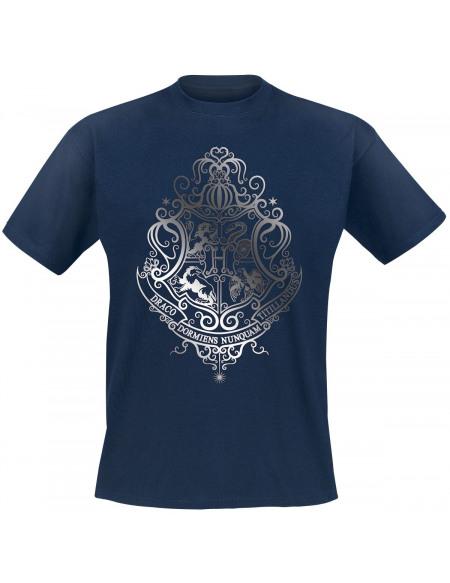 Harry Potter Poudlard T-shirt bleu
