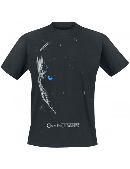 Game Of Thrones Season 7 Poster - Night King T-shirt noir