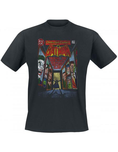 Batman Detective Comics T-shirt noir