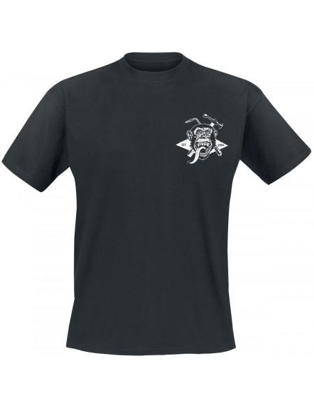 Gas Monkey Garage Torche & Marteau T-shirt noir