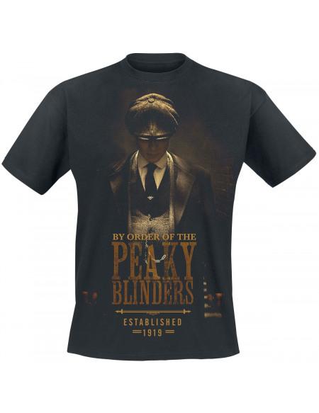 Peaky Blinders Est 1919 T-shirt noir