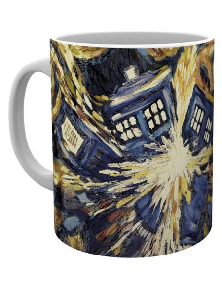 Doctor Who L'Explosion Du Tardis Mug multicolore