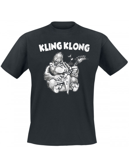 Kling Klong T-shirt noir