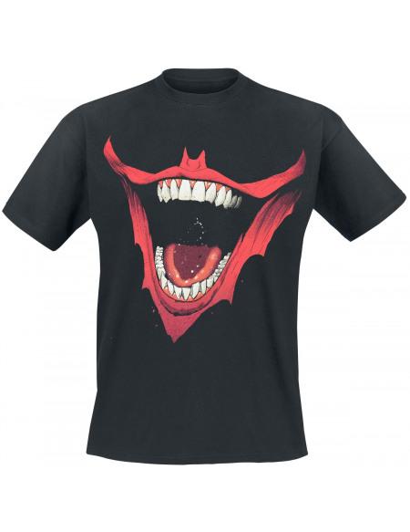 Batman The Joker - Bat Mouth T-shirt noir