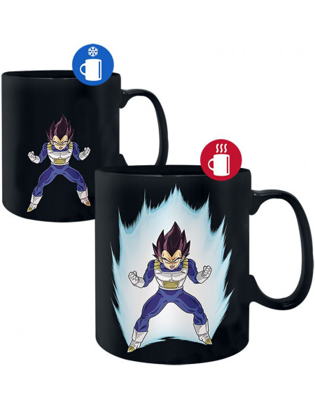 Dragon Ball Z - Vegeta - Mug Thermoréactif Mug multicolore