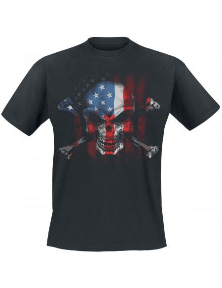 American Brotherhood T-shirt noir