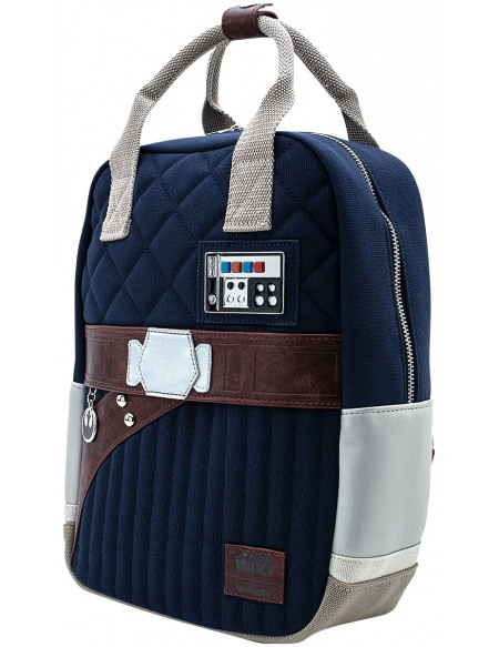 Star Wars 40ème Anniversaire - Loungefly - Han Solo Uniform Sac à Dos multicolore