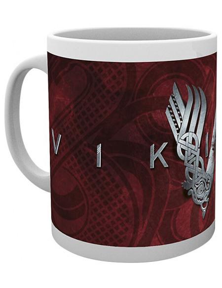 Vikings Logo Vikings Mug blanc