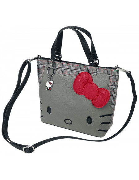 Hello Kitty Loungefly Sac à Main gris