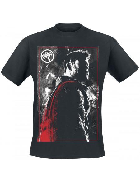 Avengers Endgame - Thor - Logo T-shirt noir