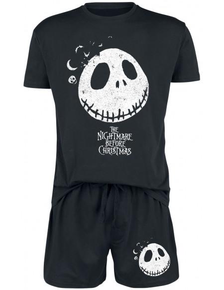 L'Étrange Noël De Monsieur Jack Jack Pyjama noir