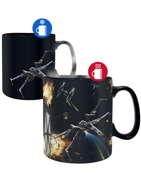 Mug thermoréactif Star Wars - Space Battle - 460 ml