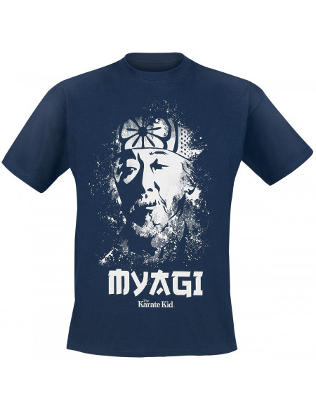 Karate Kid Mr. Myagi T-shirt bleu