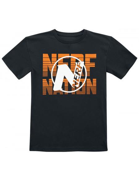 NERF Nerf Nation T-shirt noir