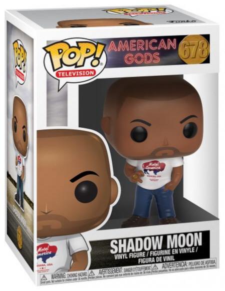 American Gods Figurine En Vinyle Shadow Moon 678 Figurine de collection Standard