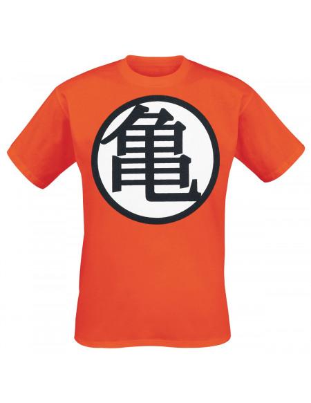 Dragon Ball Dragon Ball Z - Goku - Kanji T-shirt orange