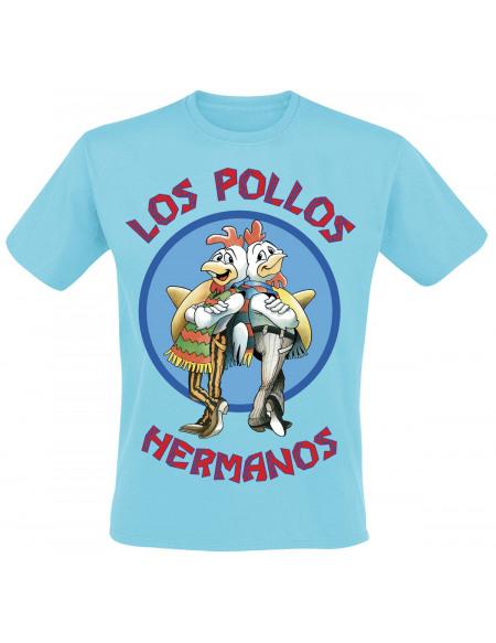 Breaking Bad Los Pollos Hermanos T-shirt bleu clair