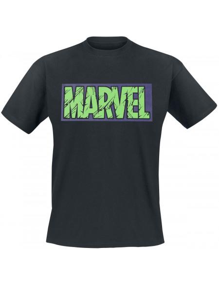 Hulk Logo Marvel T-shirt noir