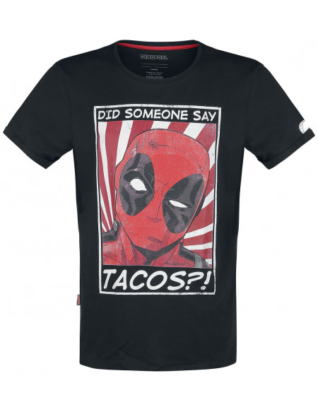 Deadpool Taco´s?! T-shirt noir