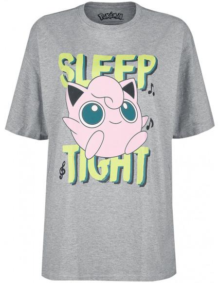 Pokémon Rondoudou T-shirt Femme gris