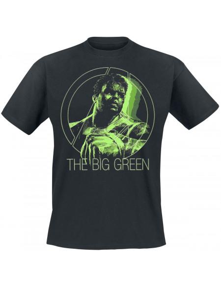 Avengers Endgame - Hulk - The Big Green T-shirt noir