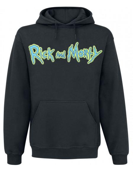 Rick & Morty Riggity Riggity Wrecked Sweat à capuche noir