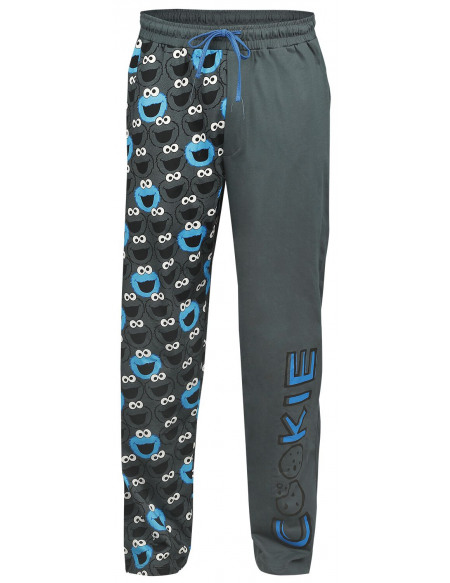 Sesame Street Cookie Monster - Cookie Bas de pyjama gris