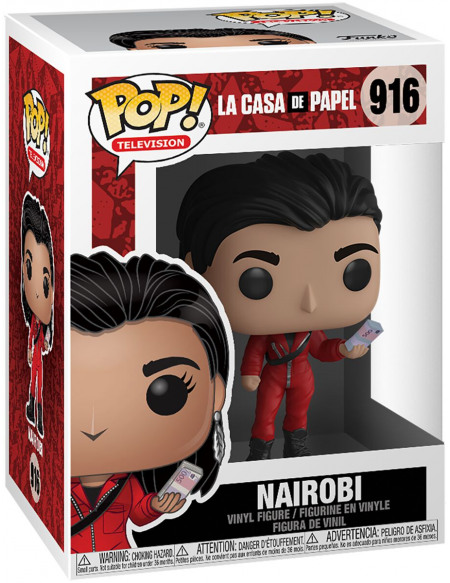 La Casa De Papel Nairobi - Funko Pop! n°916 Figurine de collection Standard