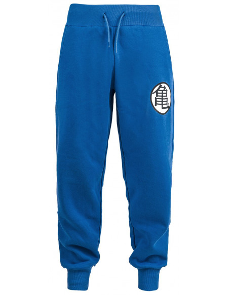 Dragon Ball Z Cosplay Pantalon de Jogging bleu