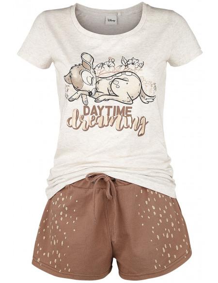 Bambi Daytime Dreaming Pyjama marron/beige